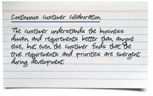 Customer Collaboration